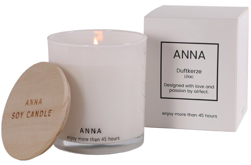 airfect duftkerze anna lilac